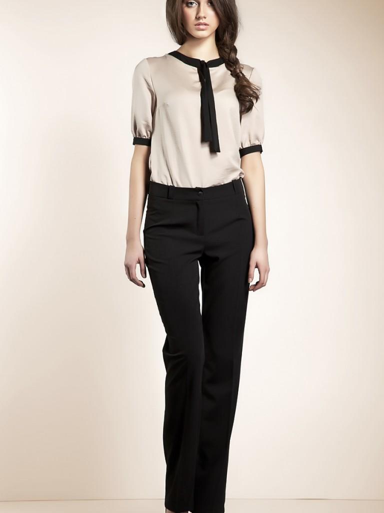 С чем носить классические женские брюки a7b41bcfed96b