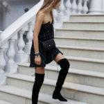 Модные женские ботфорты - как выбрать, фото