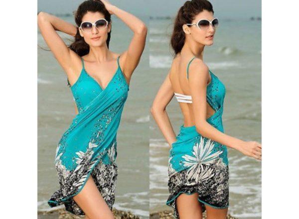 Фото платья саронг