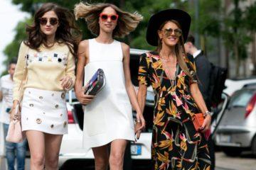 Модные платья на весну