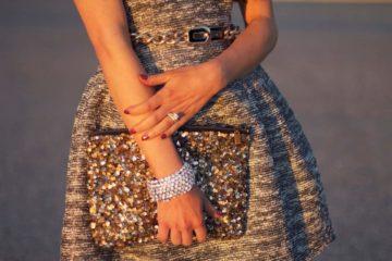 Маникюр под вечернее платье