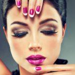 Дизайн черно-розовых ногтей: фото и видео