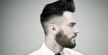 Мужские прически с бородой