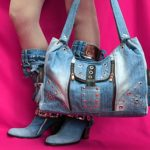 Джинсовая сумочка своими руками