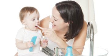 Уход за зубами для детей