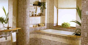 Керамическая плитка-мозаика