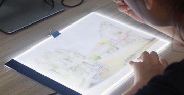Доска с подсветкой для рисования LED drawing board