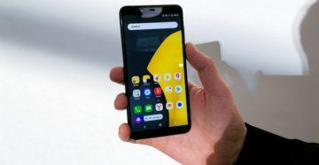 Характеристики смартфона Яндекс.Телефон