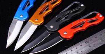 Универсальный складной нож для туриста
